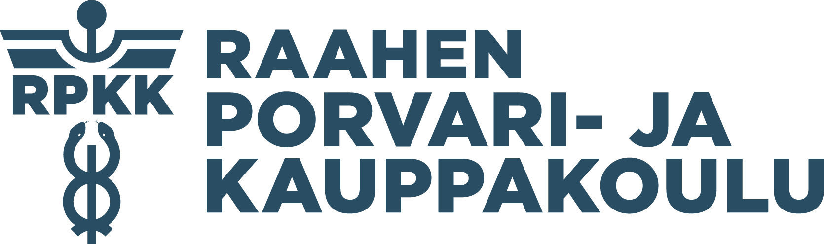 Raahen Porvari- ja Kauppakoulu Logo